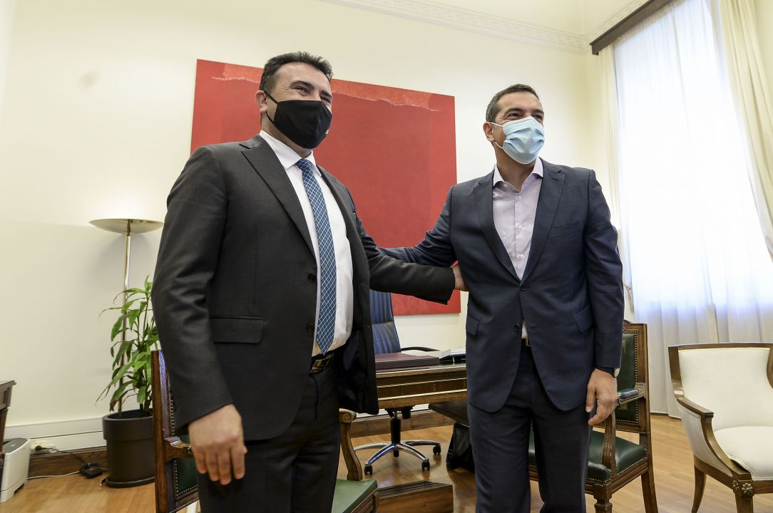 Заев – Ципрас: Придобивките од Договорот од Преспа денес се препознаени и од чинителите кои имаа сомнежи, ЕУ да испорача кон С. Македонија за да се спречат националистичките агенди
